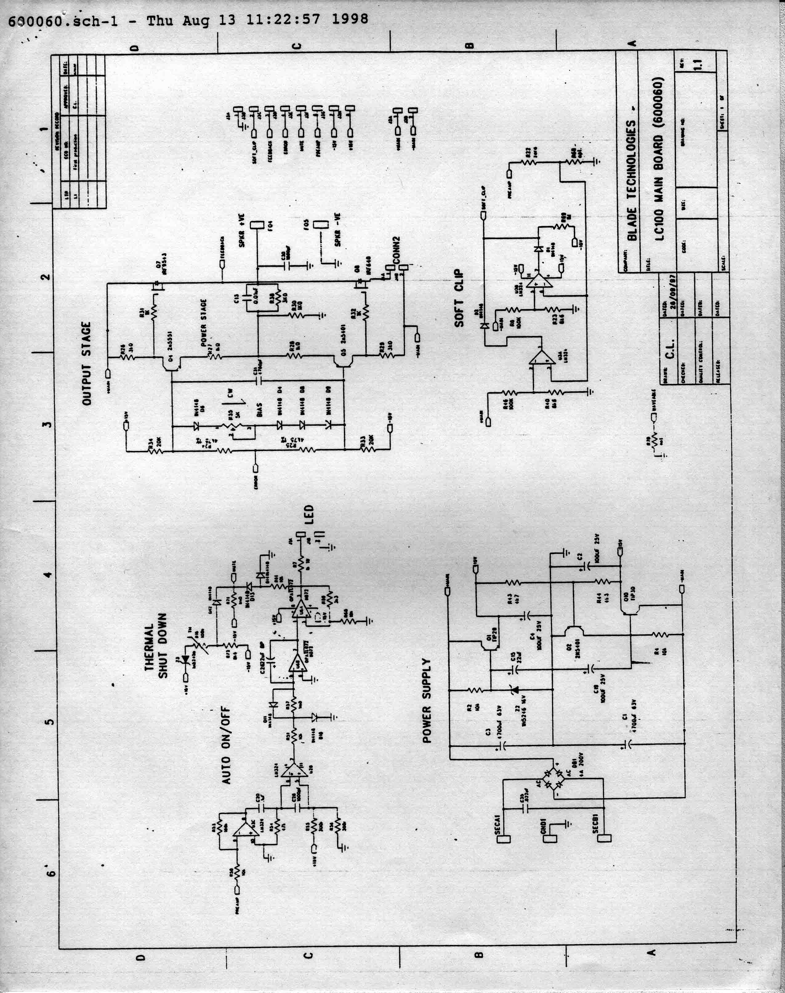 5 1 subwoofer circuit diagrams carver cinema 5.1 and 5.2 speaker systems - specifications ... 1 way circuit diagram